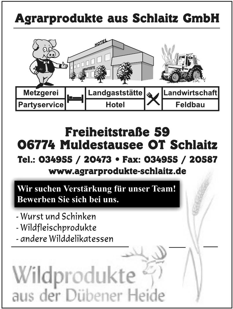 Agrarprodukte aus Schlaitz GmbH