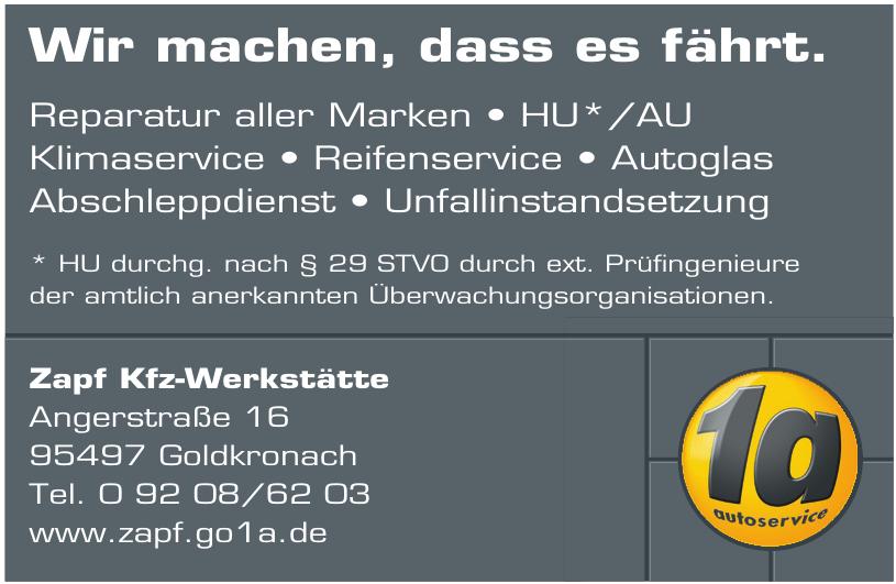 Zapf Kfz-Werkstätte