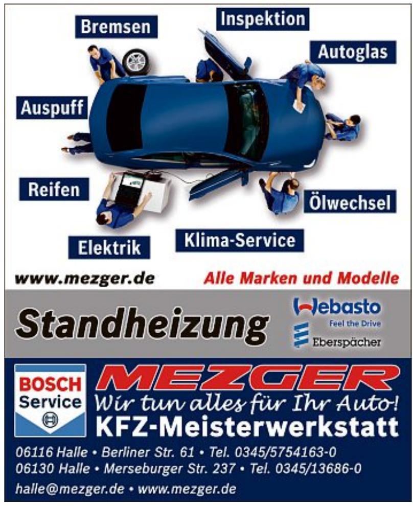 Mezger Bosch Service - KFZ-Meisterwerkstatt