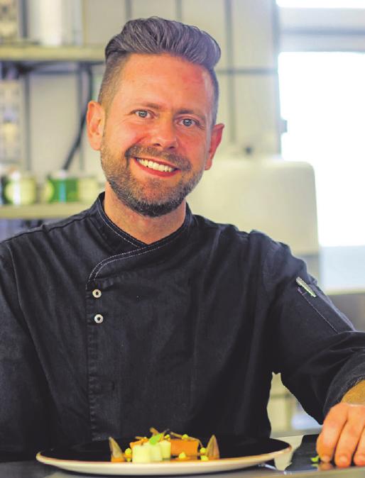Küchenchef Mike Schulze steht für kulinarischen Genuss im Sonnenhof.