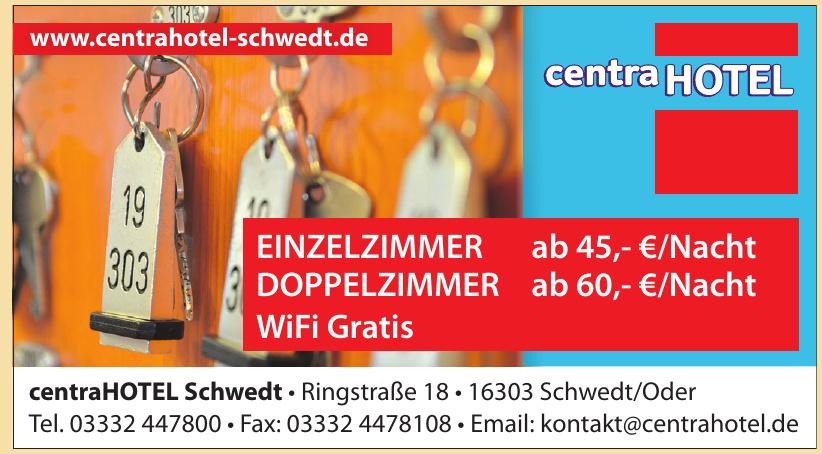 centraHOTEL Schwedt