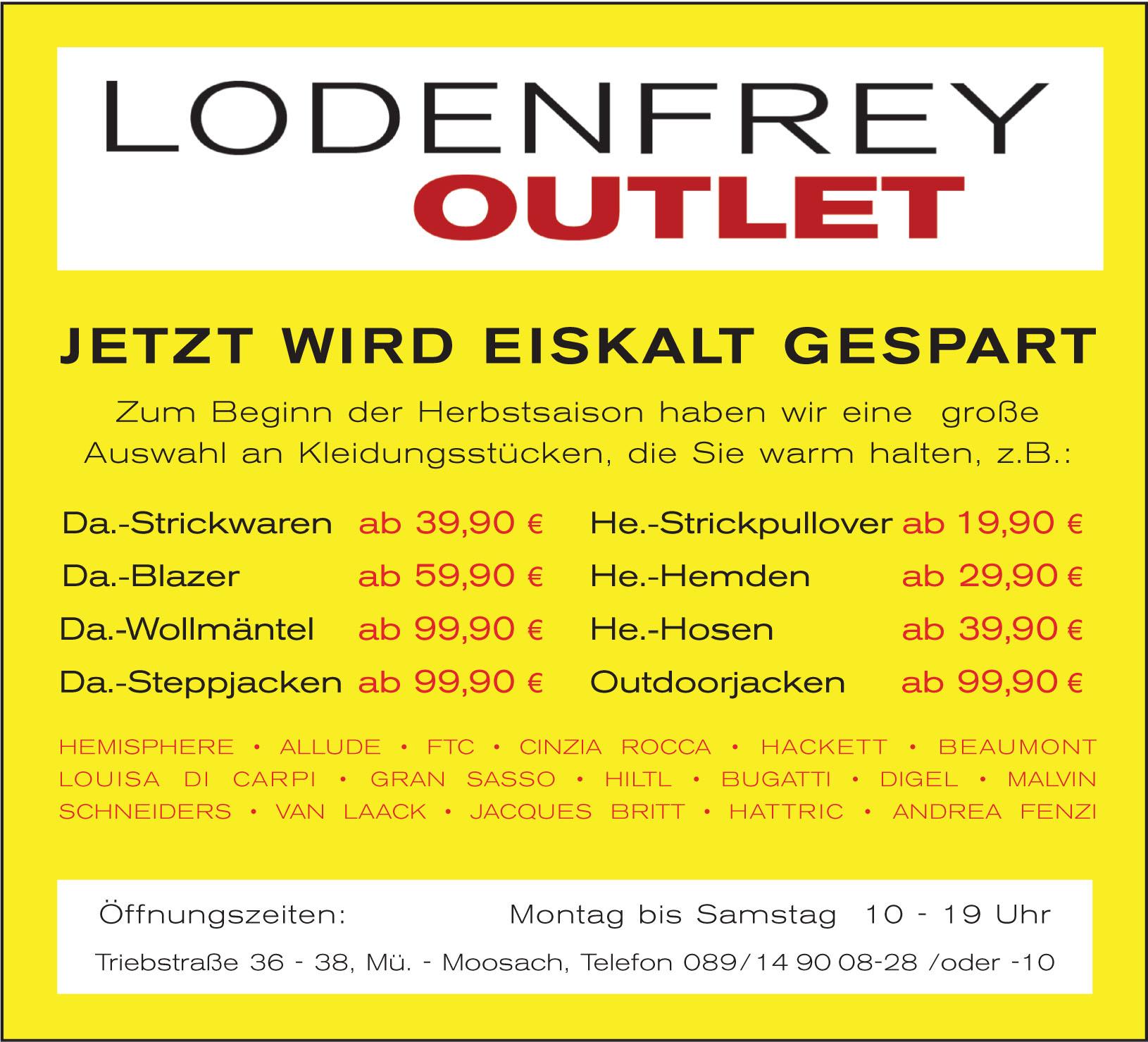 Lodenfrey Outlet