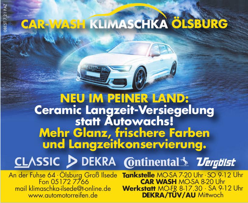 Auto-Moto-Reifen - Car-Wash Klimaschka Ölsburg