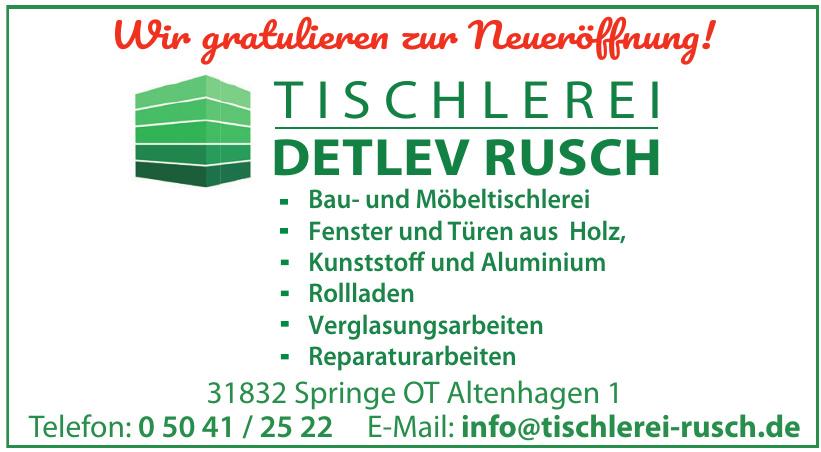 Tischlerei Detlev Rusch