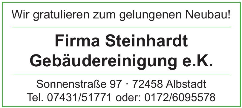 Firma Steinhardt Gebäudereinigung e.K.