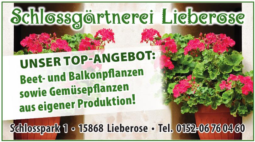 Schlossgärtnerei Lieberose