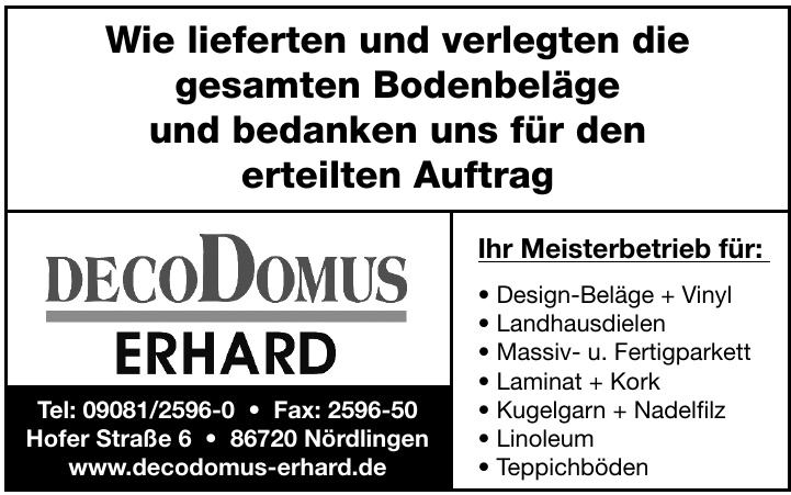 DecoDomus Erhard