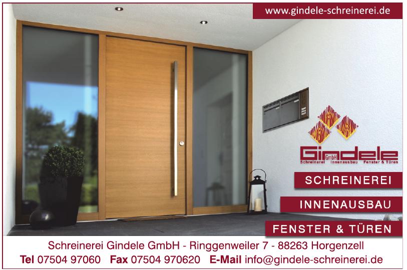 Schreinerei Gindele GmbH
