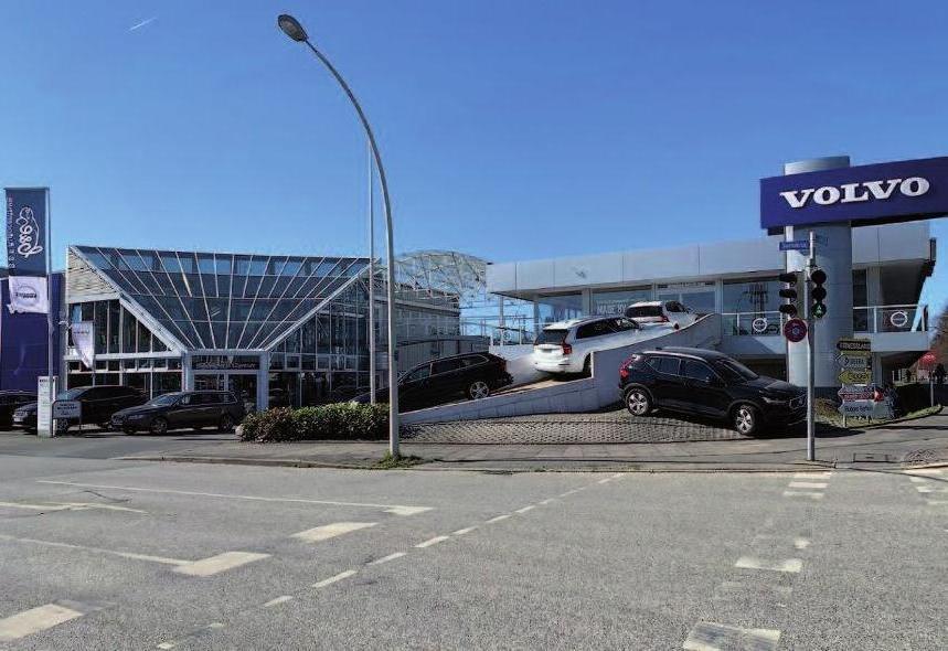 Der neue Standort auf der Kieler Automeile, das B&E Autocentrum in Suchskrug. Foto: B & E