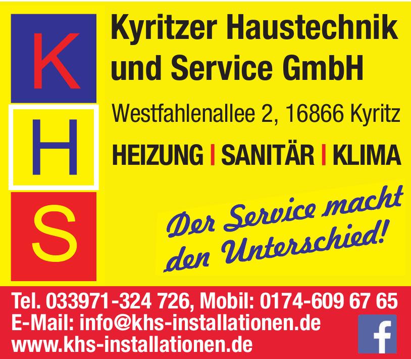 KHS Kyritzer Haustechnik und Service GmbH