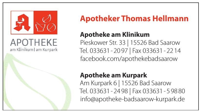 Apotheker Thomas Hellmann