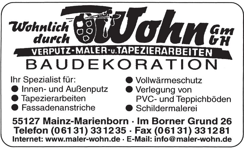 Wohn GmbH