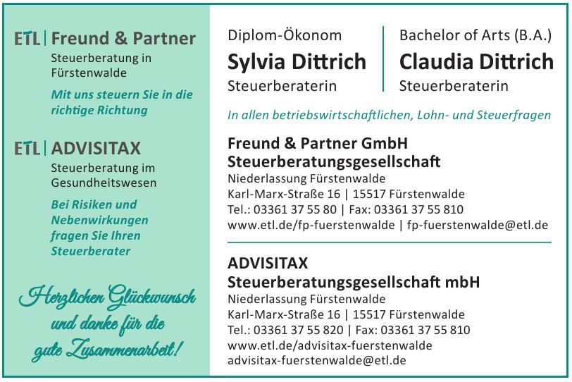 Freund & Partner GmbH Steuerberatungsgesellschaft
