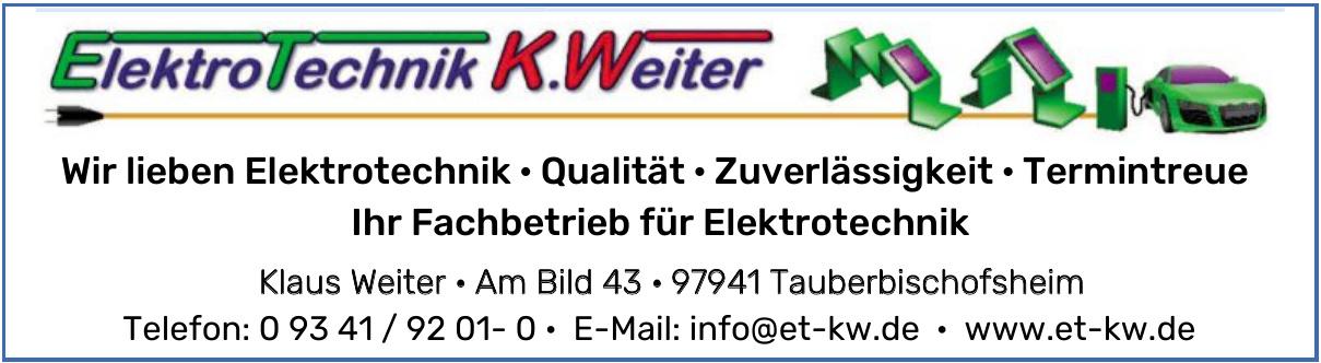 Elektrotechnik K. Weiter