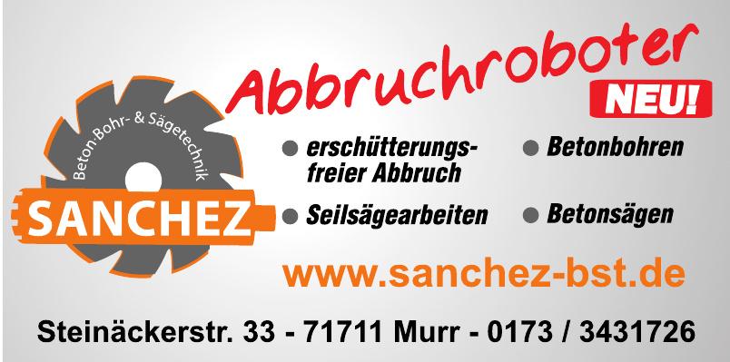 Sanchez Beton-Bohr- & Sägetechnik