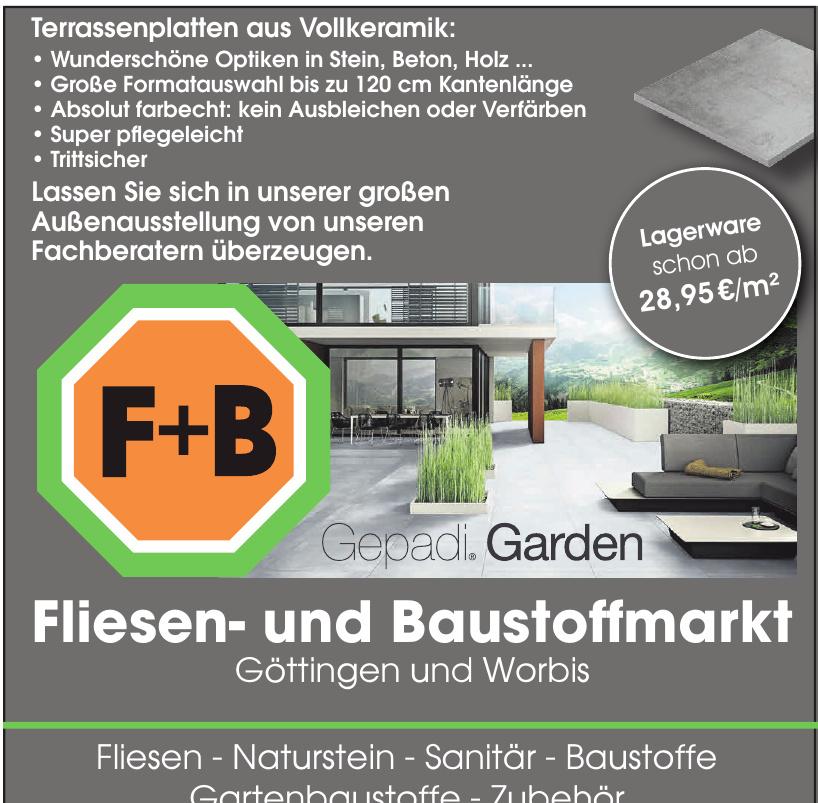 F+B Fliesen- und Baustoffmarkt