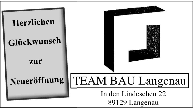 TEAM BAU Langenau