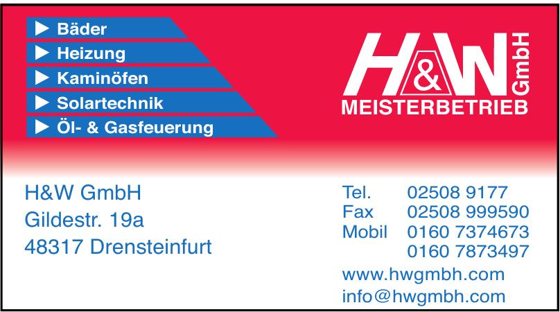 H& W GmbH