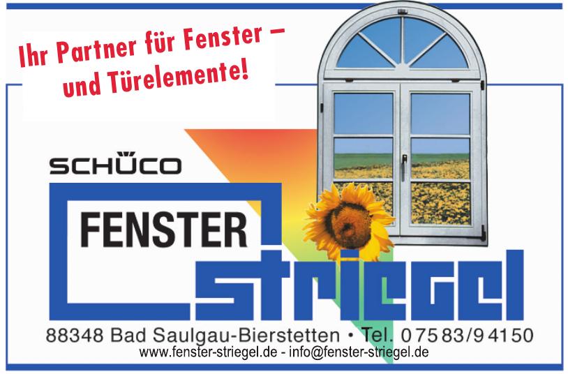 Fenster-Striegel GmbH