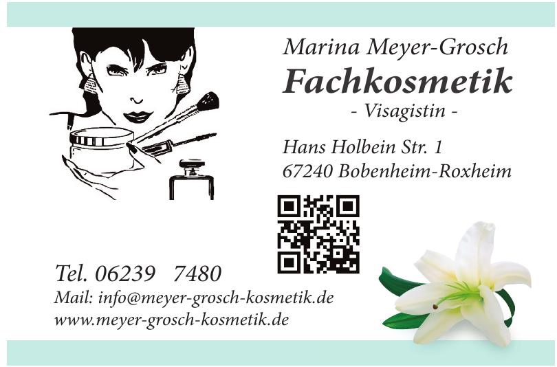 Fachkosmetik Marina Meyer-Grosch - Visagistin -