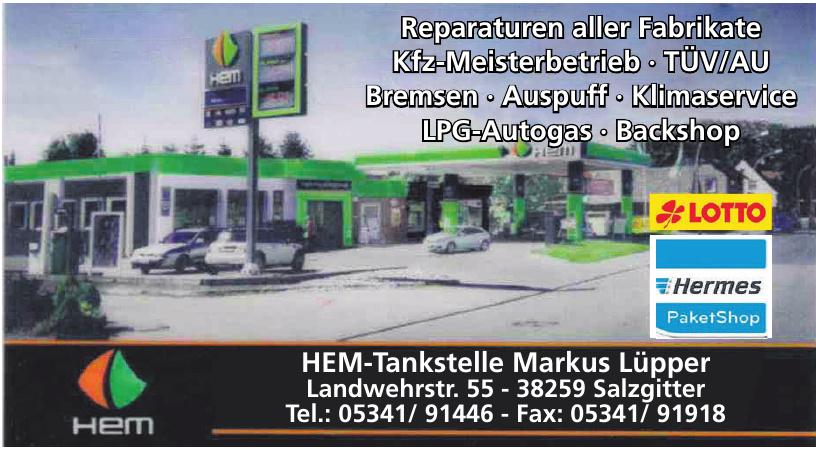 HEM-Tankstelle Markus Lüpper