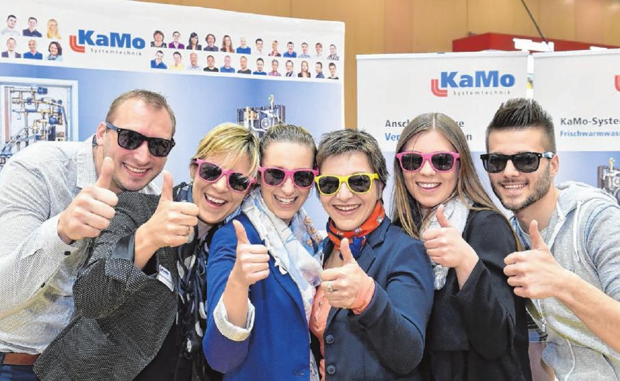 Die Firma KaMo in Ehingen setzt bei ihren Ausbildungsberufen auf eine fundierte und breit gefächerte Ausbildung, die Spaß macht.