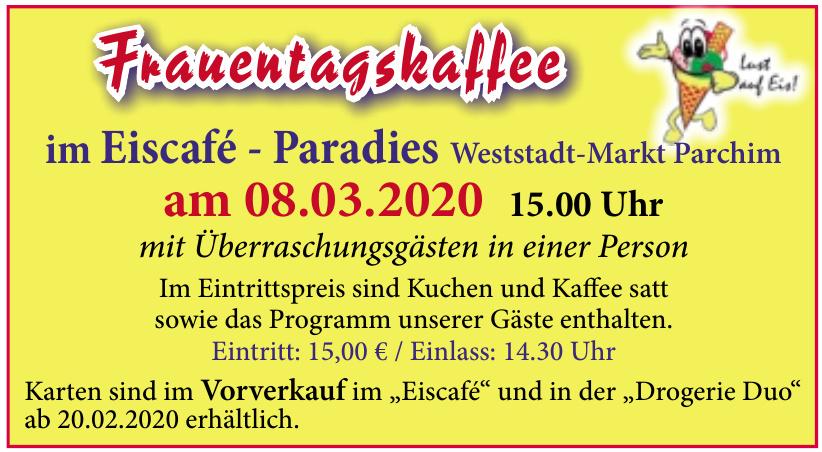 Eiscafé - Paradies