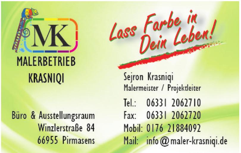 MK Malerbetrieb Krasniqui