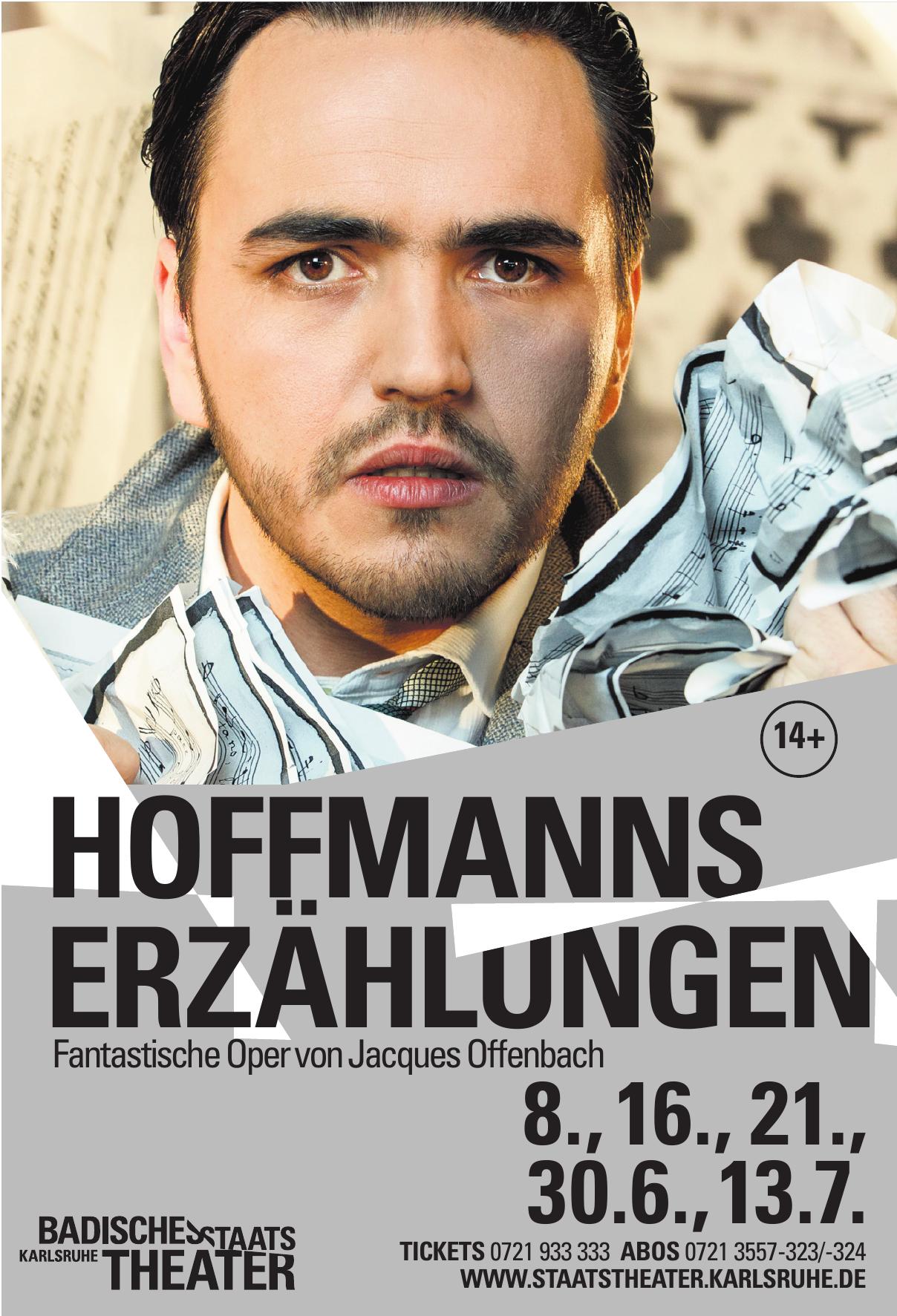 Badisches StaatstheaterKarlsruhe - Hoffmanns Erzählungen