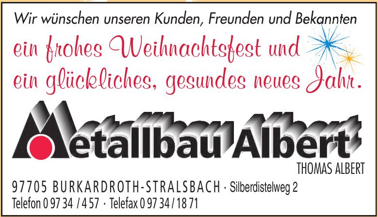 Metallbau Albert
