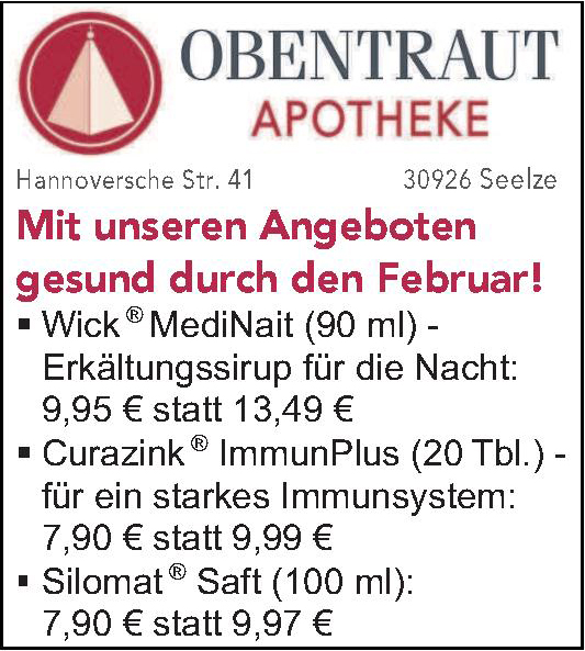 Obentraut Ароthеke
