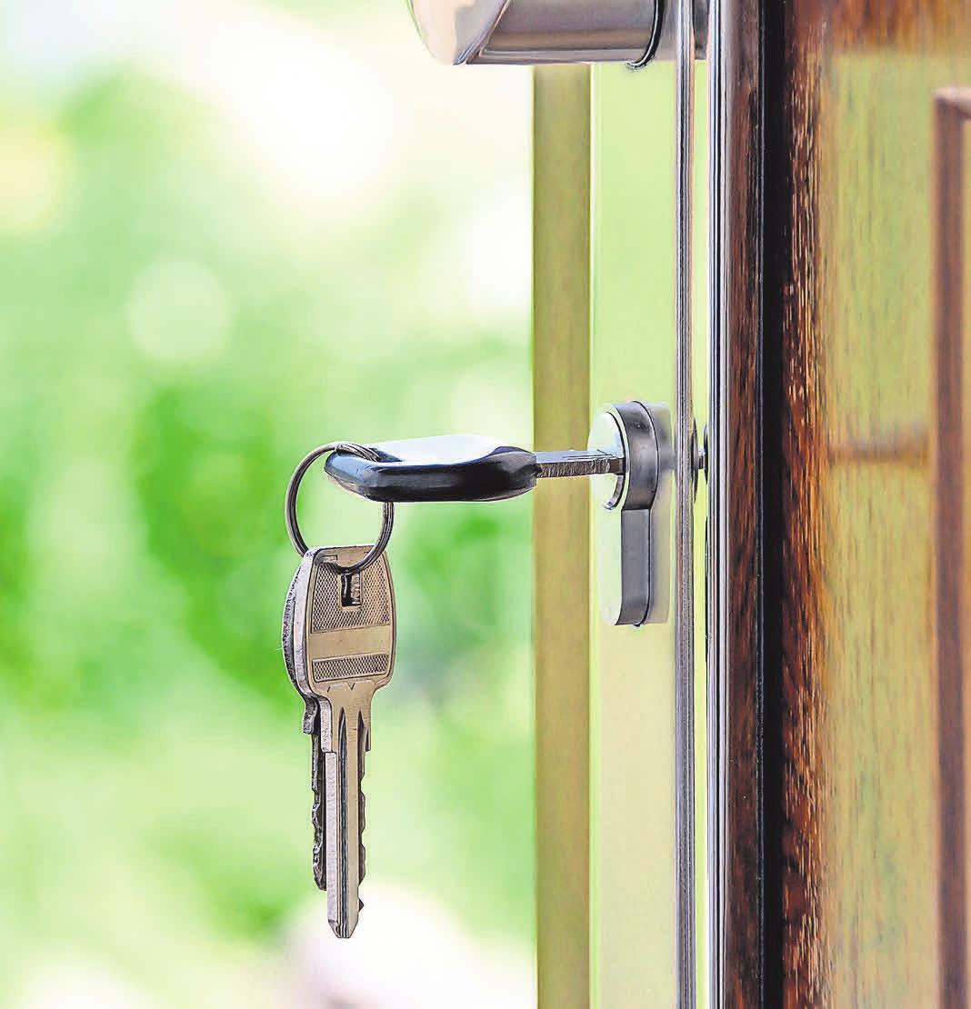 Mit moderner Haustürtechnik sind herkömmliche Schlüssel nicht mehr nötig.