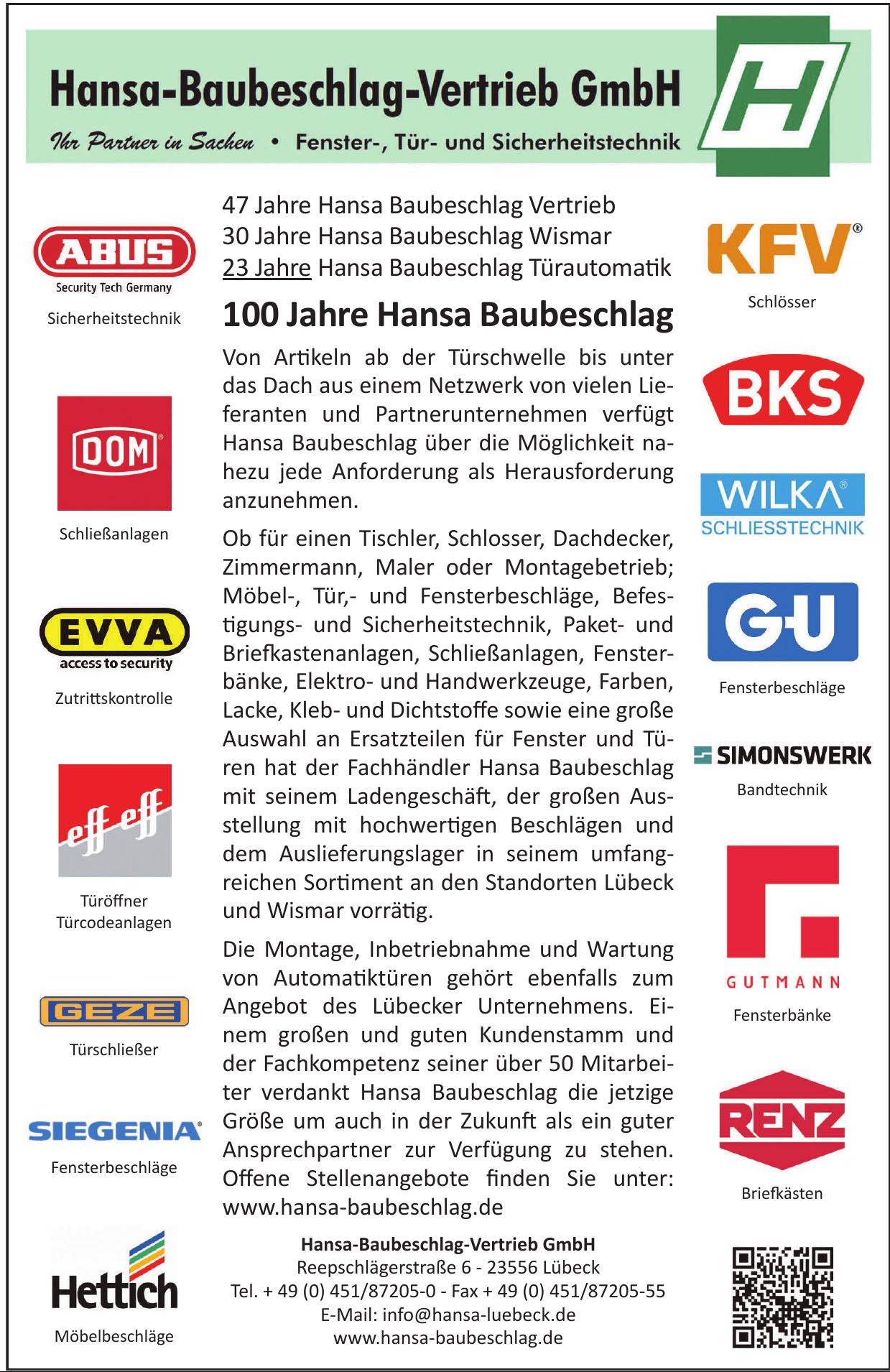 Hansa-Baubeschlag Wismar GmbH