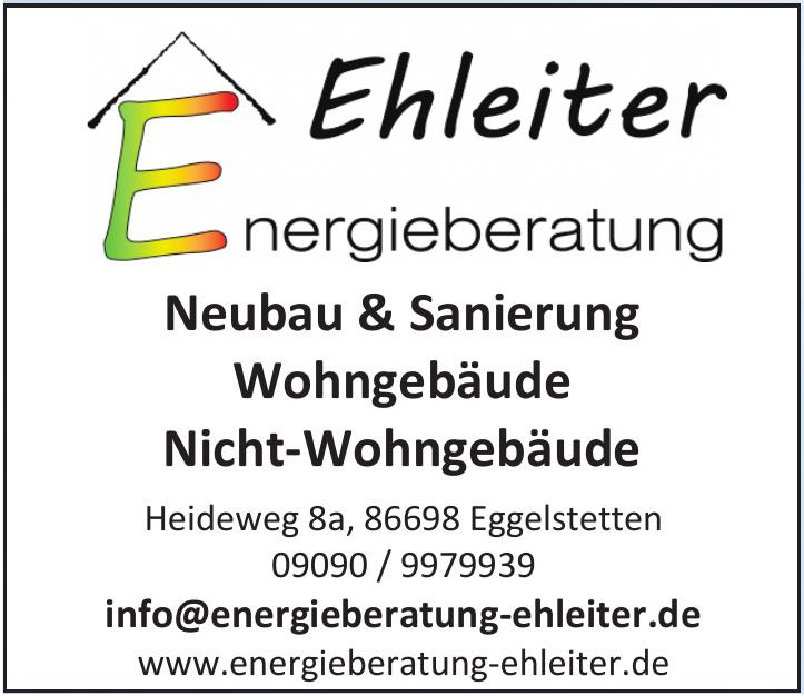 Ehleiter Energieberatung