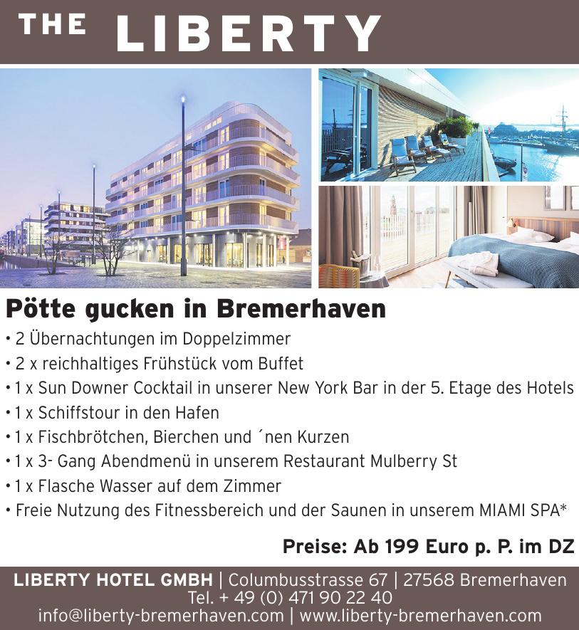 LIBERTY HOTEL GMBH