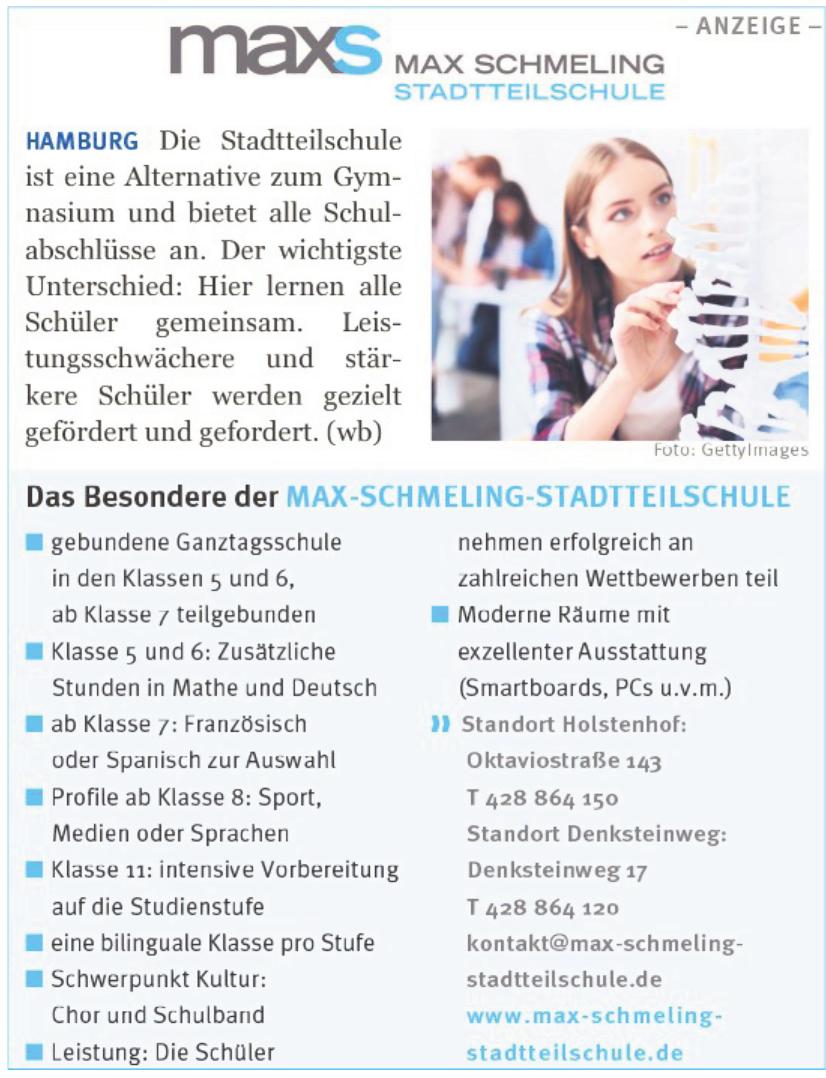 Max Schmeling Stadtteilschule
