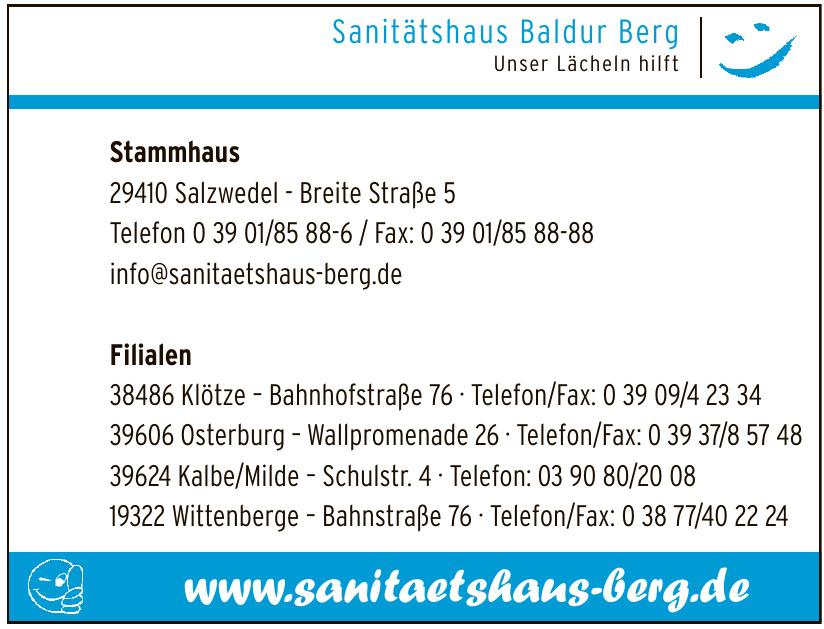 Sanitätshaus Baldur Berg