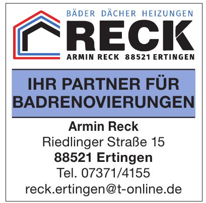 Armin Reck