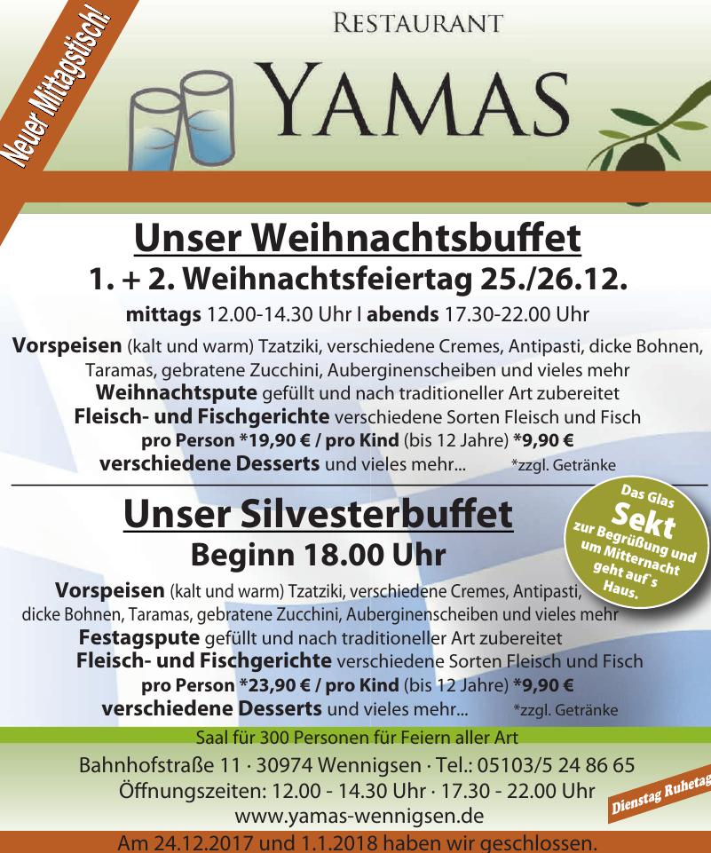 Restaurant Yamas