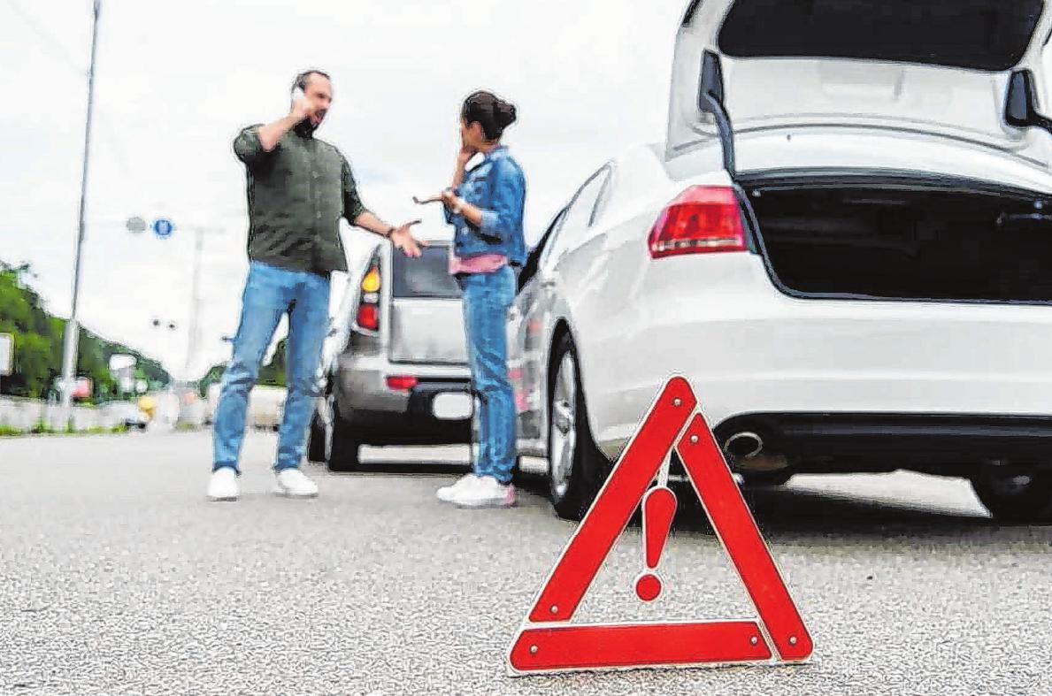 Wer auffährt, ist nicht immer grundsätzlich schuld am Unfall – den Vorausfahrenden kann unter Umständen ebenso eine Mitschuld treffen. Foto:djd/Auto1 GROUP/PantherMedia/VitalikRadko