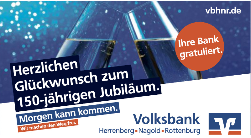 Volksbank Herrenberg, Nagold, Rottenburg