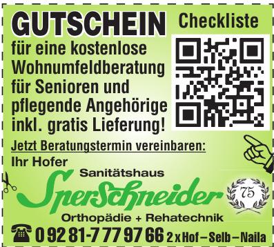 Sperschneider GmbH Sanitätshaus