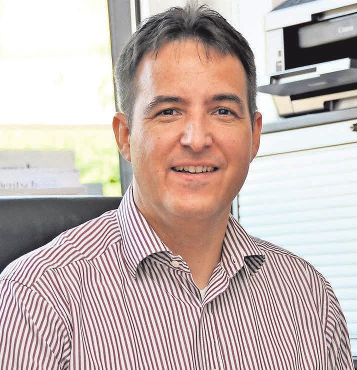 Wilke Struckmann, der Vorsitzende des Werbe- und Informations-Ring Springe (WIR), freut sich auf Sonntag.