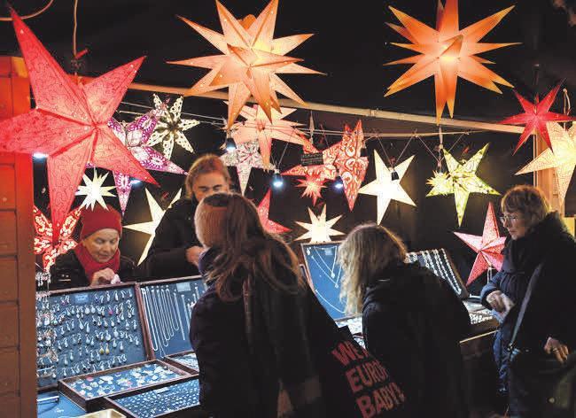 Der Weihnachtsmarkt in Potsdam ist noch bis zum 29. Dezember geöffnet.