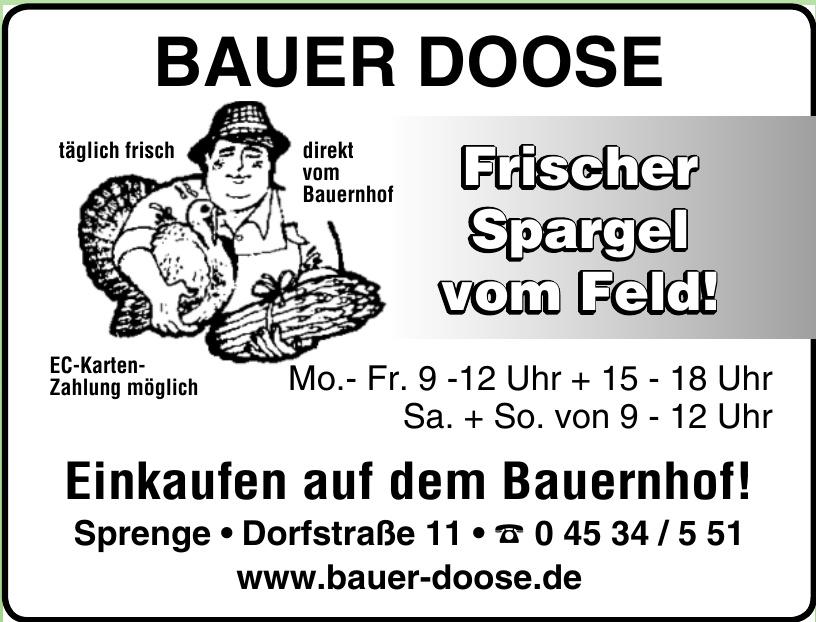 Bauer Doose