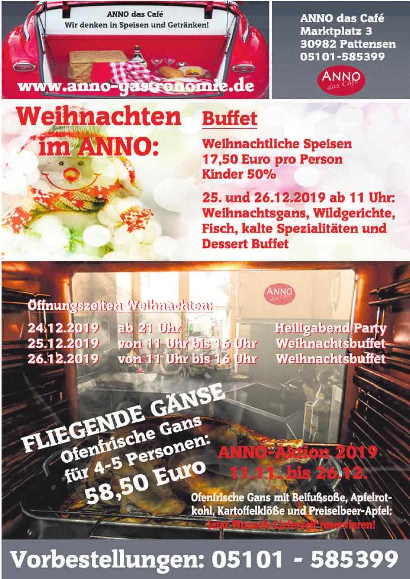 ANNO das Café Gastronomie & Partyservice