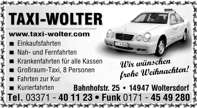 Taxi-Wolter