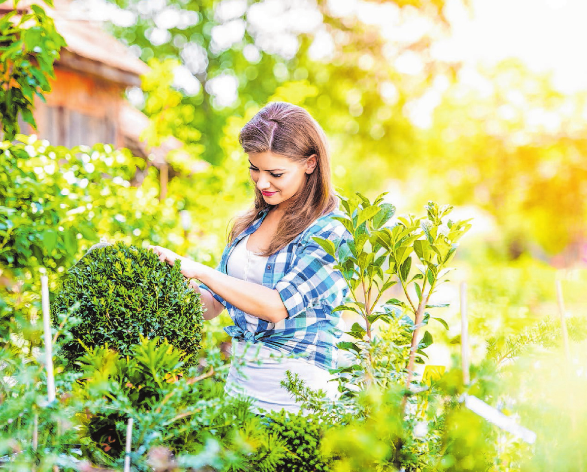 """Ein Garten ist mehr als ein Erholungsort: Beim """"Tag des Gartens"""" macht man auf seine vielen Bedeutungen für Mensch und Natur aufmerksam. Foto: ©Halfpoint - fotolia.com"""