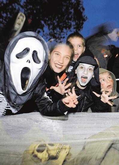 Halloween-Grusel für den Nachwuchs: im Mannheimer Luisenpark.Foto: Luisenpark/frei
