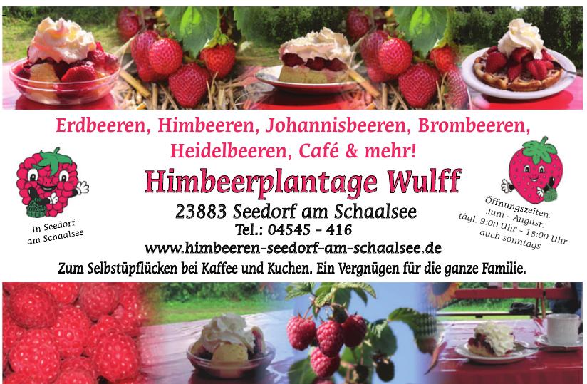 Himbeerplantage Wulff